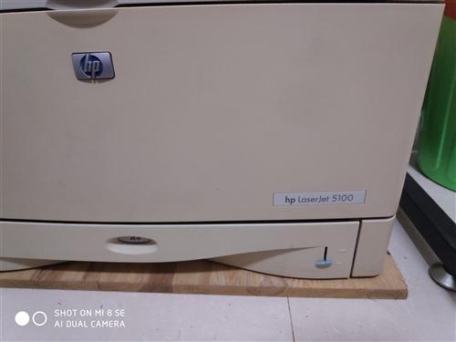 出售自用惠普黑白A3.A4打印机,型号为5100