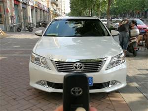 12年3月份 丰田凯美瑞一手车 个人 一直上下班了