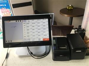 9成新收银机,带双打印机的