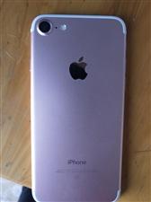 苹果7玫瑰金色,128g,带发票,来凤城内可看货