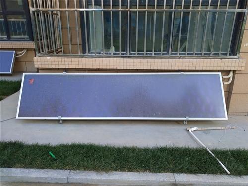 盛景城自带太阳能未用 海尔壁挂式100升