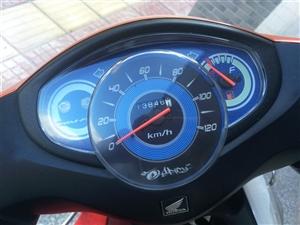 9成新本田五羊电喷110C摩托车转手,没有出过故障、没有被水泡过,因需要更换其他交通工具,所以便宜转...