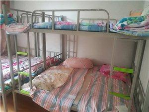 现有1.8×0.9的上下铺铁床便宜处理,八五成新,买时460现价240,送床板和床垫,一共18套