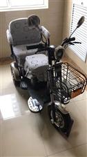 老年代步车,三轮车,6月份买的,没怎么骑过!