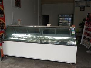全新 原价5800 周黑鸭绝味煌上煌商超熟食柜 长250厘米 宽80厘米