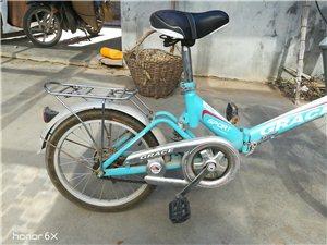 折叠自行车,吕铝合金车身车轱辘,没怎么骑啊?有需要的亲快了哈