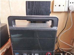 九成新电脑一套,全新打印机一台