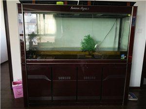 sunsun鱼缸,尺寸大概1.6*1.8m,棕红色。 因需放钢琴,忍痛割爱!