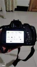佳能相机750d自己买来用有一年了现在便宜处理了!9成新都没太用
