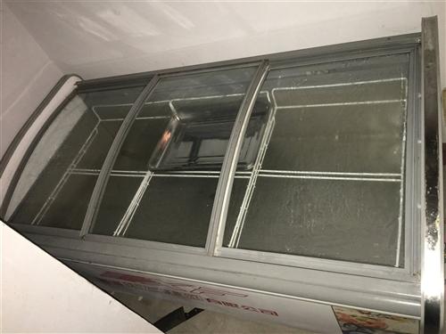 出售二手新飞展示柜,保鲜,冷藏,冷冻,都可以。规格1.9米长1米宽,随时看货,自取