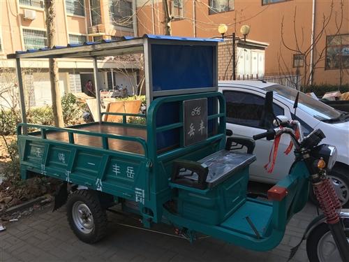 岳丰三轮车车斗2米长1.2米宽用了时间不长
