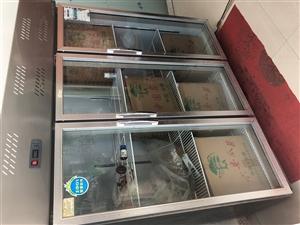 九成新保鲜柜全铜管,使用一年多,原价3200,现在只要2200,看中拉走