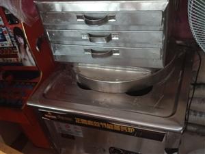 八成新肠粉机器,可蒸包子,蒸饺,做肠粉。