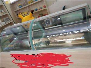 展示柜(保鲜柜)1.2米,95成新(2个) 冷藏柜310升,95成新(1个)