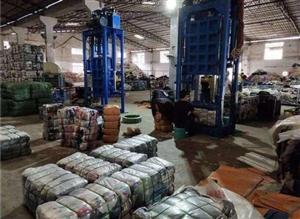 高价回收各类废旧衣物,成色新旧不限,布料不限,另在各县区招收代理