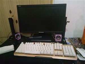 出售电脑,机箱新的,联想显示器,机械键盘鼠标,500出售,