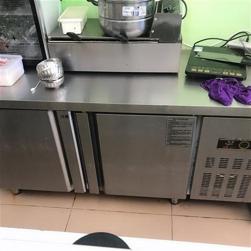 爆米花 制冰机 桌子 烤肠机 双冰柜(冷藏 冷冻