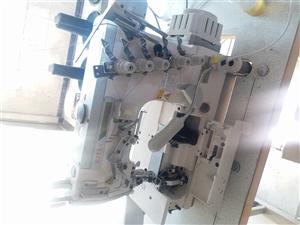 全新三针五线绷缝机有意者15613200170咨询