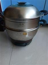 超低价卖8成新不锈钢加厚炒锅,嘎嘎好使。。全新不锈钢加厚蒸锅,两个100元。。。1351261733...