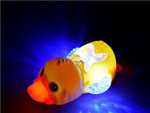 广场地摊夜市玩具,电动鱼。电动狗,电动鸭