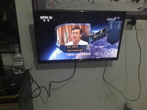 宾馆倒闭,处理一批2015年的长虹液晶电视机,有挂架。电视图像清晰,伴音好。可以连接各种机顶盒。