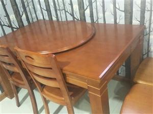 便宜出售红木长条桌,圆桌(能圆能长)桌子在左旗有要的打电话18047303952,,,9.5成新就用...