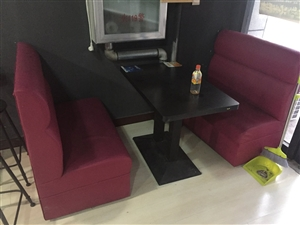 多套快餐店桌椅,沙发,吧台,展示柜
