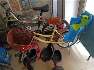 自行车出售,带儿童座椅