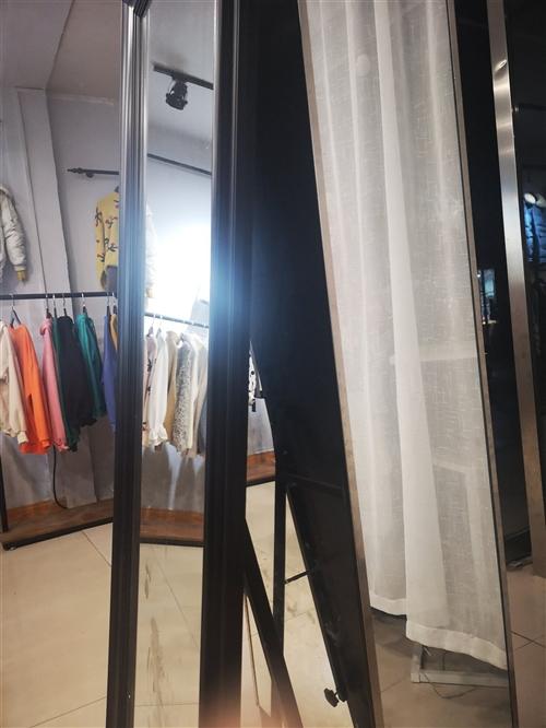 服装店专用瘦身镜,服装架