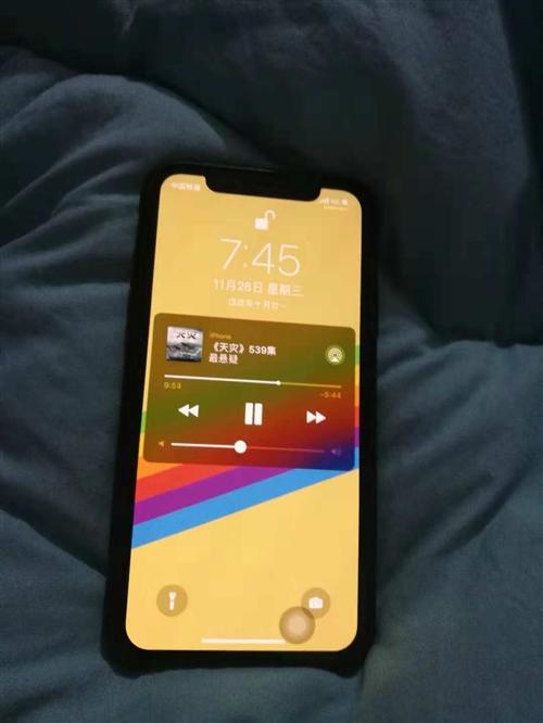 蘋果xs 64g 金色 國行 碎屏險 耳機一副 原裝充電器一副 無線充電器一副   價格可以商量 ...