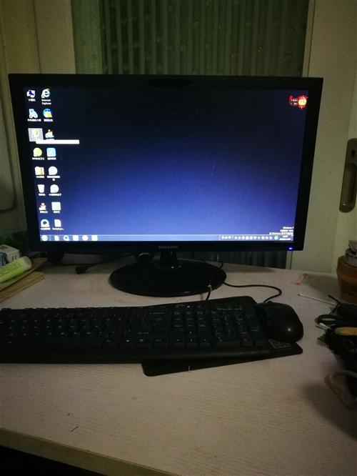 九成新台式电脑和电脑桌,如有需要可联系我,价格面议