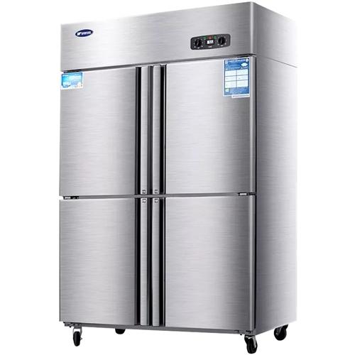 商用(铜管)双开门冰箱。9成新。