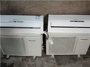 9.9成新1.5匹挂机冷热两用松下空调