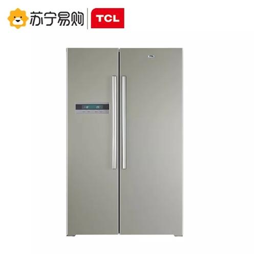 TCL双开门冰箱 9成新