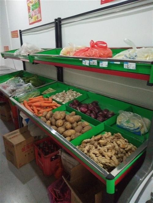 出售蔬菜水果架 八成新,低价出售,有意者电话联系!