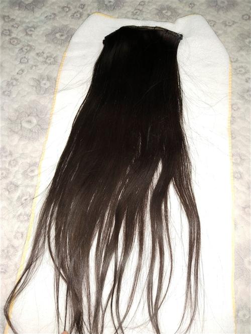 真头发发片,便宜转让,共三片