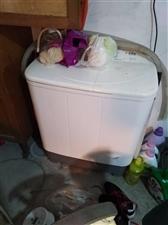 双桶洗衣机,换全自动的了,用不着了,没买毛病,200元