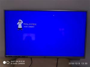 TCL王牌超级智能云3D电视  8成新 !!!!!