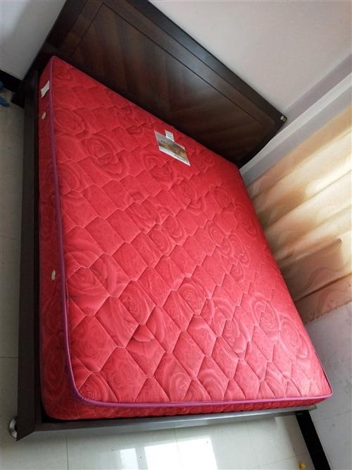 床和床垫一起,用了5年左右。。比较新
