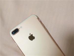 因本人要换新手机诚心出售苹果7P 32G   女孩子用的保存很好,电池也很耐用,无修无摔,可以当面看...