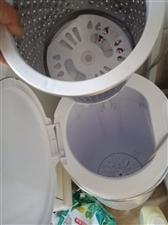 小鸭半自动洗衣机带甩干,买回来给二胎宝贝洗衣服用的就用过一次