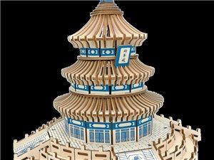 实木北京天坛和天安门出售,天坛50元天安门80元,需要的请联系
