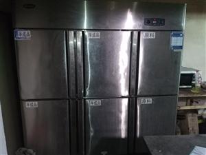 银都冷柜,六开门,全钢全铜,3000元~
