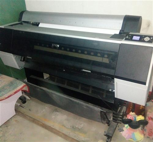 EPSON 9908,高清宽幅面打印机,八成新。18793753885
