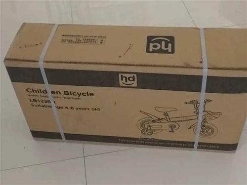 转让全新未查封小龙哈彼自行车,适合3-6岁儿童。