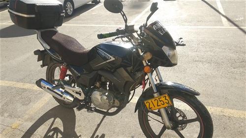 出售一辆春风150-A水冷摩托车,本人上班代步用,行驶约35000KM,车况良好,7成新!带大容量一...