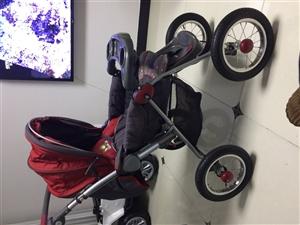 此儿童轮胎打气车,没有怎么用,孩子已经长大了,现低价转让50元固安中宏新界自提
