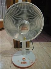 电热扇九成新,50元,放了一年没怎么用过