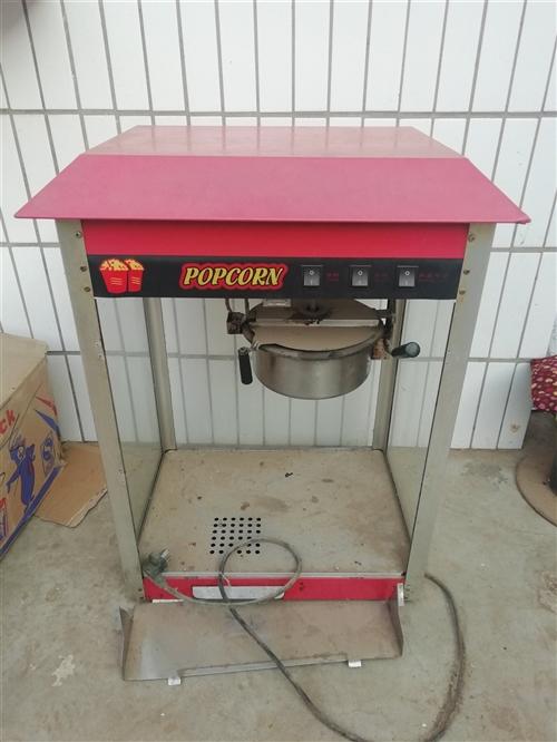 转让二手爆米花机器,带一箱大桶,220元,可以正常使用,电话13613302752