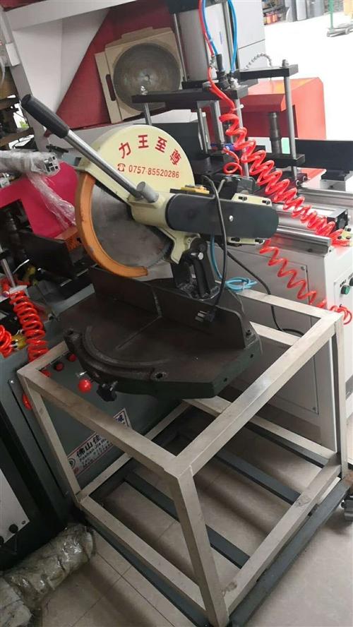 全鋁家居設備  轉讓  雙切機  推臺鋸 轉盤鋸  設備只用了幾個月   九成新  價格面議  非誠...